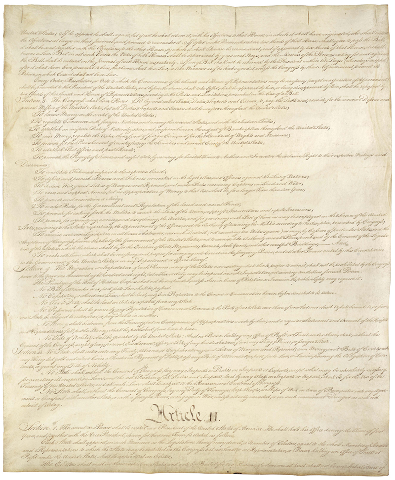 United States Constitution - Page 2